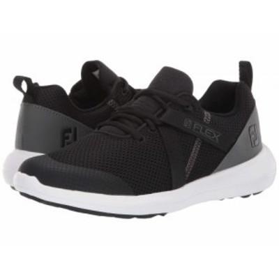 FootJoy フットジョイ レディース 女性用 シューズ 靴 スニーカー 運動靴 FJ Flex Black/Charcoal【送料無料】
