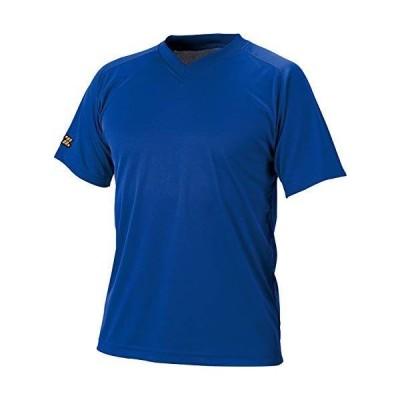 ゼット(ZETT) 野球 ベースボールVネック半袖Tシャツ ロイヤルブルー SS BOT635