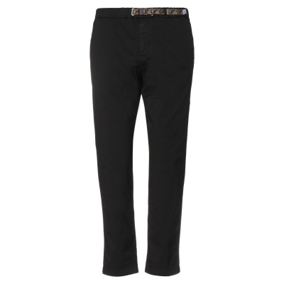 WHITE SAND 88 パンツ ブラック 52 コットン 97% / ポリウレタン 3% パンツ