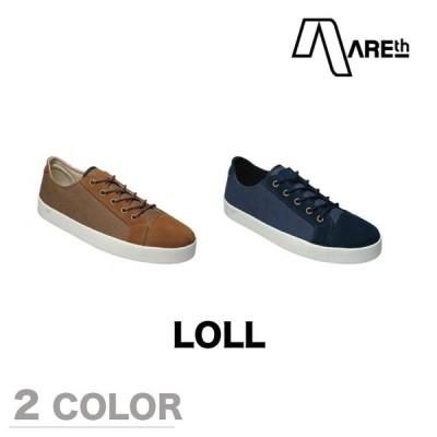 AREth スニーカー 靴 LOLL アース 2017モデル 各2色 23.5-29.0cm areth