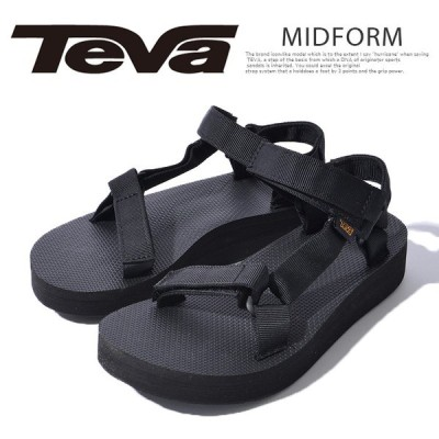 テバ サンダル ブラック 黒 TEVA 1090969 スポーツサンダル コンフォートサンダル