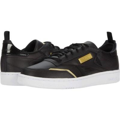 リーボック Reebok レディース スニーカー シューズ・靴 Club C Ree:Dux Black/White/Gold Metallic