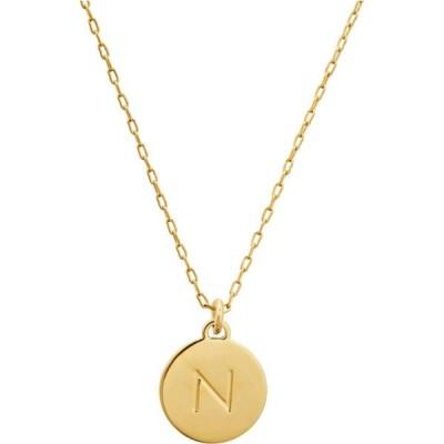 ケイト スペード Kate Spade New York レディース ネックレス ジュエリー・アクセサリー N Mini Pendant Necklace