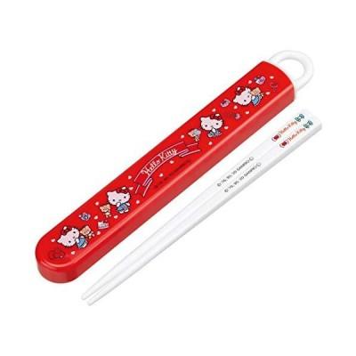 スケーター 子供用 抗菌Ag* 箸 箸箱セット キティおしゃれガール 16.5cm ABS2AMAG 日本製