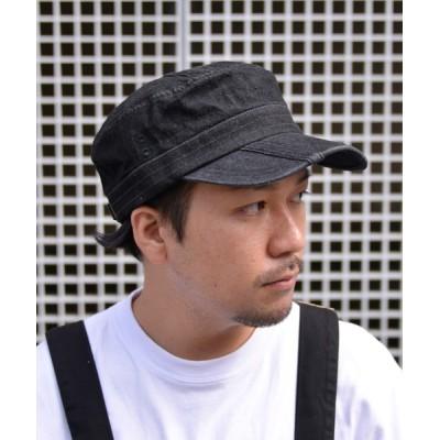 ANCHOR by ROTAR/VIVIFY / QUARTER GALLERY デニムバイアスステッチワークキャップ MEN 帽子 > キャップ