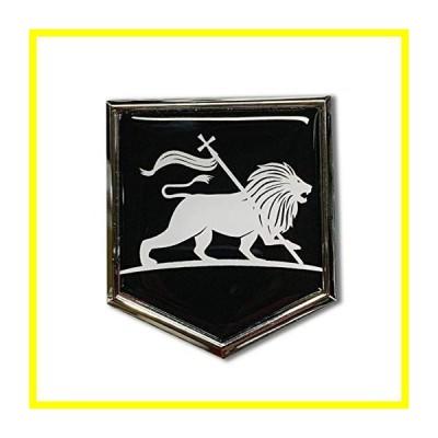 送料無料 Proud Store Online Lion of Judah Domed Chrome エンブレム Decal ステッカー Car Vinyl Rasta Jamaica Ethiopia Car 3D ステッカ