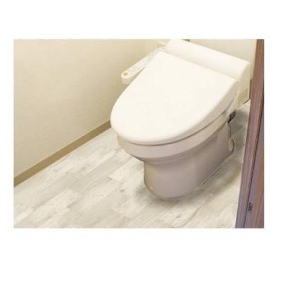 明和グラビア 防水模様替えシート トイレ床全面用 クリーム 90cm×200cm BKTW-90200 212961