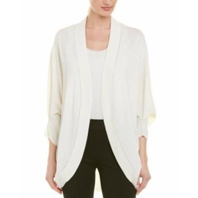 ファッション 衣類 St. John Cashmere Cardigan L White