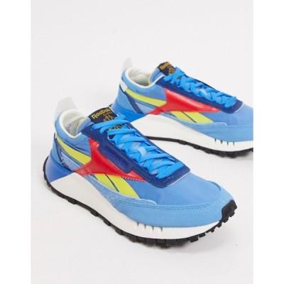 リーボック メンズ スニーカー シューズ Reebok Classic Legacy sneakers in blue
