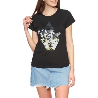 ボルコム Volcom レディース Tシャツ トップス radical daze tee short sleeve t-shirt Black