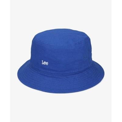 (LEE/リー)Lee COLOR BUCKET COTTON TWILL/ユニセックス ブルー
