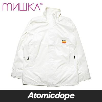 ミシカ MISHKA GRADATION KEEP WATCH ジャケット グラデーション ホワイト 白 MSS200502M80 JACKET White