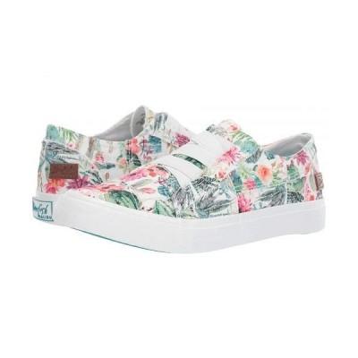 Blowfish ブローフィッシュ レディース 女性用 シューズ 靴 スニーカー 運動靴 Marley - Off-White Cactus Flower