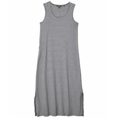 ドード アンドコー レディース ワンピース トップス Samba Paseo Midi Dress True Navy Stripe