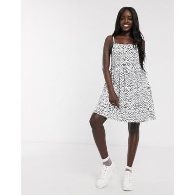 デイジーストリート Daisy Street レディース ワンピース キャミワンピ ワンピース・ドレス Mini Cami Dress In Scattered Spot Print