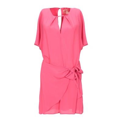 SE-TA Rosy Iacovone ミニワンピース&ドレス フューシャ 42 アセテート 82% / シルク 18% ミニワンピース&ドレス