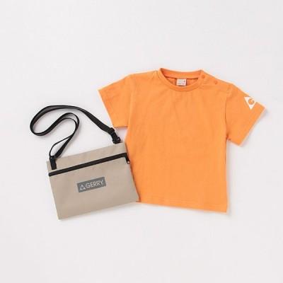 プティマイン(petit main)【GERRY】 サコッシュつきバックロゴTシャツ【T211021】【O_60】【outlet】