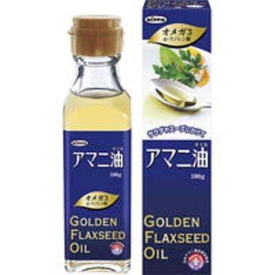 日本製粉ニップン アマニ油 100g