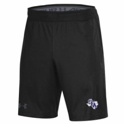 Under Armour アンダー アーマー スポーツ用品  Under Armour Stephen F Austin Lumberjacks Black MK-1 Shorts