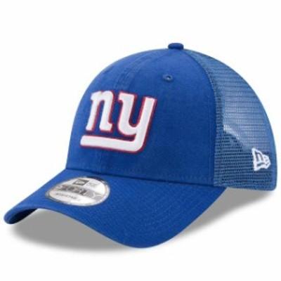 New Era ニュー エラ スポーツ用品  New Era New York Giants Royal Trucker Washed 9FORTY Adjustable Hat