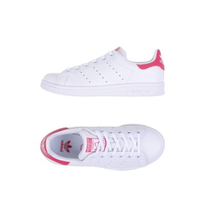 ADIDAS ORIGINALS スニーカー&テニスシューズ(ローカット) ホワイト 3Y 革 / 紡績繊維 スニーカー&テニスシューズ(ローカット)