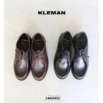 KLEMAN クレマン PADRE パドレ レザーシューズ レディース 2020AW ブラック モカ 革靴 フランス 送料無料