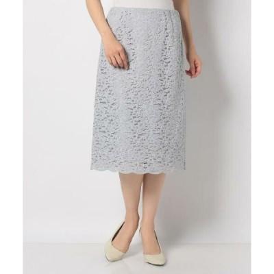 Leilian / レリアン レースタイトスカート