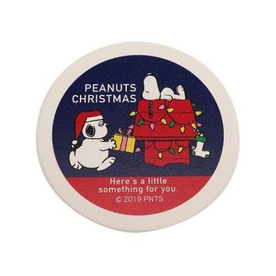 コースター 磁器製 吸水コースター ピーナッツ スヌーピー プレゼントブラザー XMAS マリモクラフト クリスマスプレゼント プチギフト