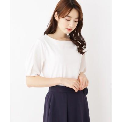 index / ふくれチェックプルオーバー WOMEN トップス > Tシャツ/カットソー