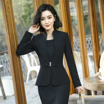 レディース or ベージュ フォーマル + カジュアル 2点セット ワインレッド ミニスカート ジャケット キュート 大きいサイズ パンツ 可愛い ブラック