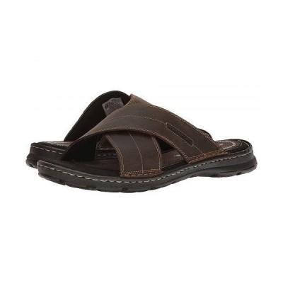 Rockport ロックポート メンズ 男性用 シューズ 靴 サンダル Darwyn Cross Band - Brown II Leather