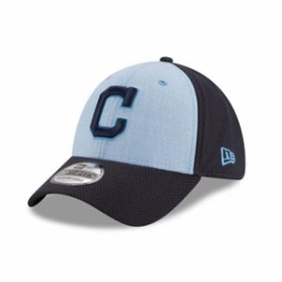 New Era ニュー エラ スポーツ用品  New Era Cleveland Indians Light Blue 2018 Fathers Day 39THIRTY Flex Hat