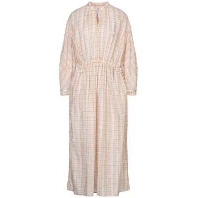 MOMONÍ ロングワンピース&ドレス ベージュ 42 コットン 100% ロングワンピース&ドレス
