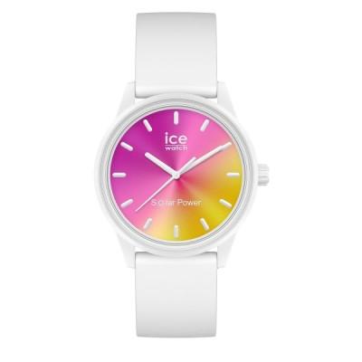 ICE WATCH アイスウォッチ 腕時計 アイスソーラーパワー 36mm スモール ホワイト 018475 【正規品】