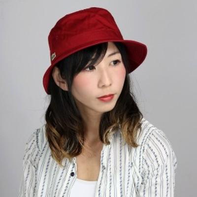 LACOSTE バケットハット メンズ ラコステ 帽子 レディース 日本製 サファリハット 綿 アウトドア