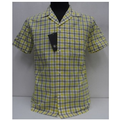 Sweep!!(スウィープ)[Gingham Check Oxford Open Shirts/Short Sleeve]