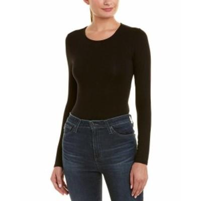 Bardot バルドー ファッション トップス Bardot Lace-Up Bodysuit L Black