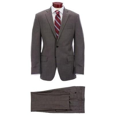 ラルフローレン メンズ ジャケット・ブルゾン アウター Classic Fit Pleated Fancy Brown Wool Suit