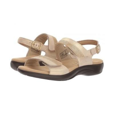 SAS サス レディース 女性用 シューズ 靴 サンダル Nudu - Golden