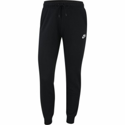 ナイキ Nike レディース ジョガーパンツ ボトムス・パンツ Essential Fleece Jogger Black/White