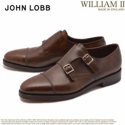 ジョンロブ ドレスシューズ メンズ 革靴 定番 ウィリアム 2 モンクストラップ JOHN LOBB WILLIAM II 232192L