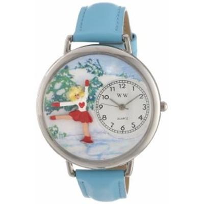 腕時計 気まぐれなかわいい プレゼント Whimsical Watches Unisex U0810024 Ice Skating Baby Blue