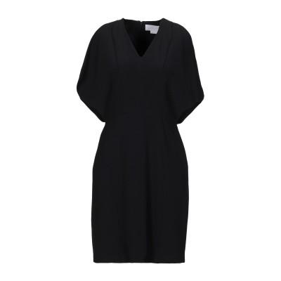 ジェニー GENNY ミニワンピース&ドレス ブラック 42 レーヨン 63% / アセテート 34% / ポリウレタン 3% ミニワンピース&ドレス