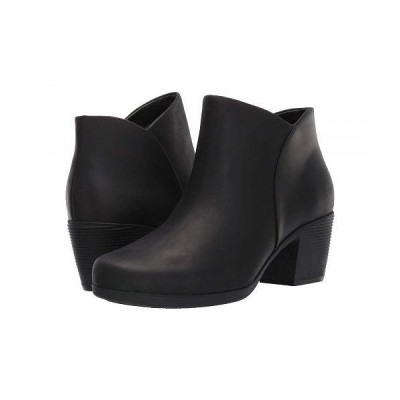 Clarks クラークス レディース 女性用 シューズ 靴 ブーツ アンクル ショートブーツ Un Lindel Zip - Black Oily Leather