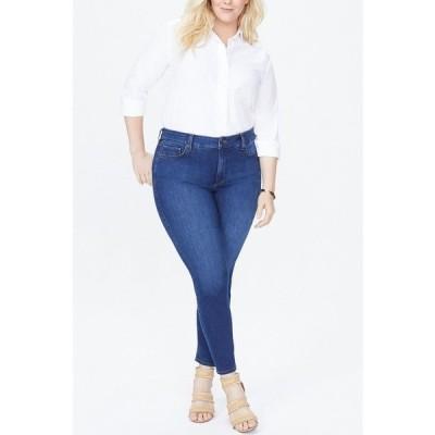 エヌワイディージェイ デニムパンツ ボトムス レディース Plus Size Ami Skinny Jeans Cooper