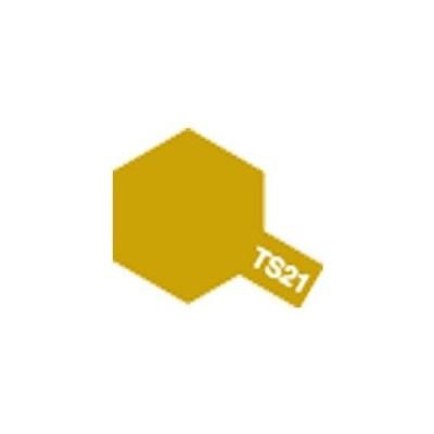 タミヤ タミヤカラースプレー TS21ゴールド