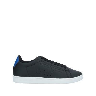 ルコックスポルティフ LE COQ SPORTIF スニーカー&テニスシューズ(ローカット) ブラック 40 紡績繊維 スニーカー&テニスシューズ(