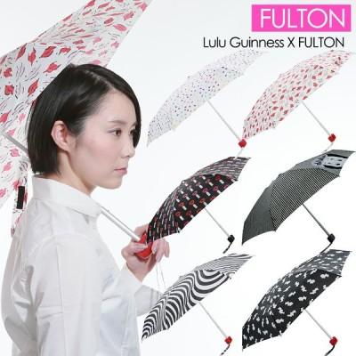 FULTON フルトン 折りたたみ傘 ルルギネス コラボモデル ハンドバックサイズ 雨傘 Lulu Guinness L717 Tiny-2