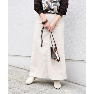 【シップス ウィメン】【SHIPS別注】Wrangler:コーデュロイスカート◇