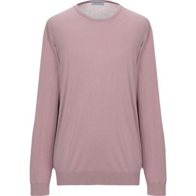 ジョンスメドレー JOHN SMEDLEY メンズ ニット・セーター トップス sweater Light brown